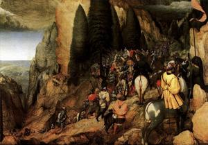Pieter Bruegel The Elder - La conversion de Saul
