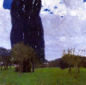 Gustav Klimt - The Tall Trees Poplar II