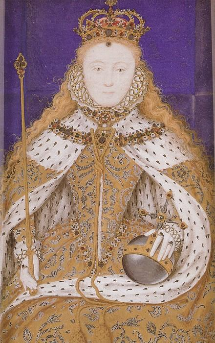 élisabeth i couronnement miniature de Nicholas Hilliard (1577-1619, United Kingdom) | Reproduction Peinture | ArtsDot.com