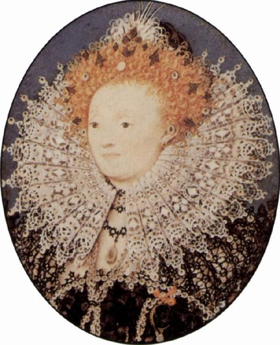 Elizabeth I de Nicholas Hilliard (1577-1619, United Kingdom) | Reproductions D'art Sur Toile | ArtsDot.com