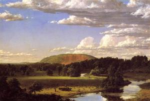 Frederic Edwin Church - West Rock, New Haven