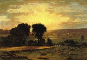 George Inness - Peace and Plenty