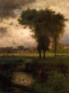 George Inness - Été, Montclair