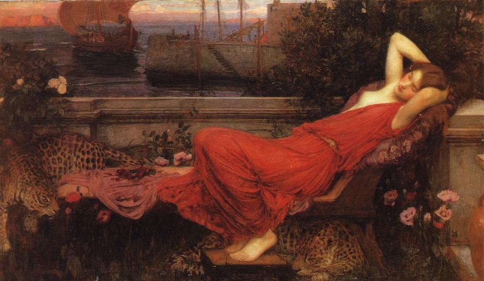 Ariane, 1898 de John William Waterhouse (1849-1917, Italy) | Copie Tableau | ArtsDot.com
