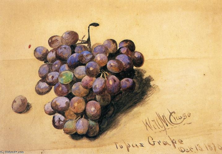Topaze Raisins, 1870 de William Merritt Chase (1849-1916, United States) | Reproductions D'art William Merritt Chase | ArtsDot.com