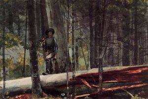 Winslow Homer - Hunter dans les Adirondacks