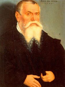Lucas Cranach The Elder - autoportrait