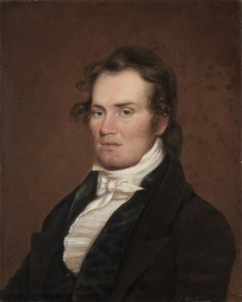 James G. McKinney, huile de Matthew Harris Jouett (1788-1827, United States)