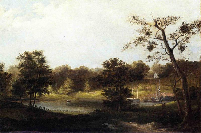 Un paysage Genteel de Thomas Birch (1779-1851, United Kingdom) | ArtsDot.com