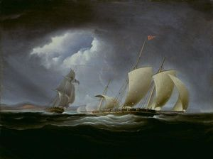 Thomas Birch - Capture de Tripoli par l Entreprise