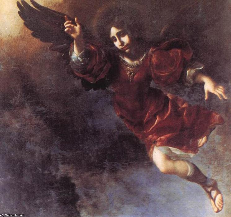 Le Guardian Angel, 1675 de Carlo Dolci (1616-1686, Italy) | Reproductions D'art Sur Toile | ArtsDot.com