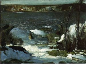 George Wesley Bellows - au nord rivière