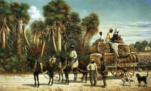 William Aiken Walker - Wagons de coton