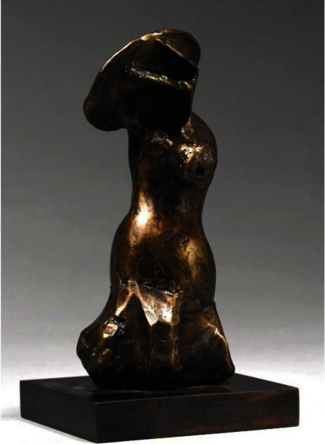 Bonnet Figure, illustration de Henry Moore (1898-1986, United Kingdom)