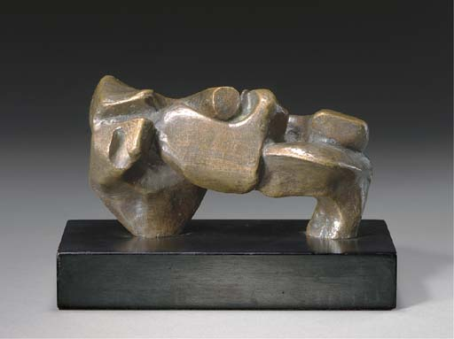 Formulaire lente; Tortue, illustration de Henry Moore (1898-1986, United Kingdom)