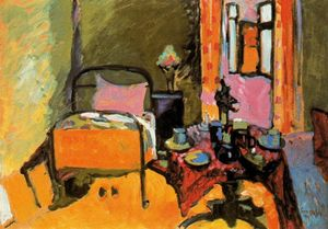 Wassily Kandinsky - Chambre sur le Ainmillerstrasse