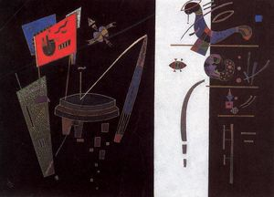 Wassily Kandinsky - L accent rouge