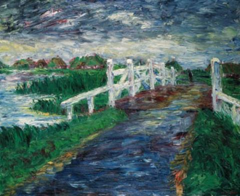 Pont Marsh de Emile Nolde (1867-1956, Germany) | Reproduction Peinture | ArtsDot.com