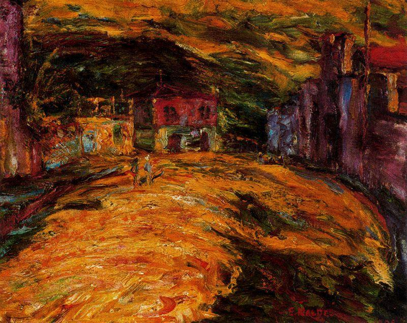Piazza San Domenico de Emile Nolde (1867-1956, Germany)