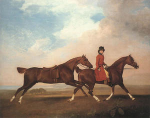 George Stubbs - William Anderson avec deu..