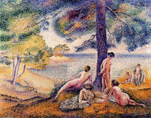 Henri Edmond Cross - a dans le `shade`