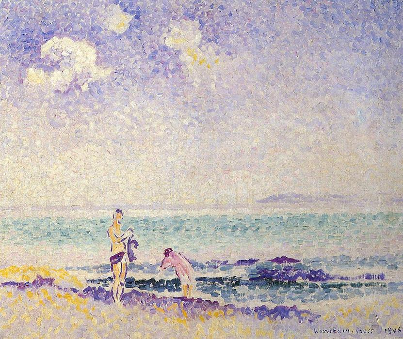 Baigneurs 1 de Henri Edmond Cross (1856-1910, France)