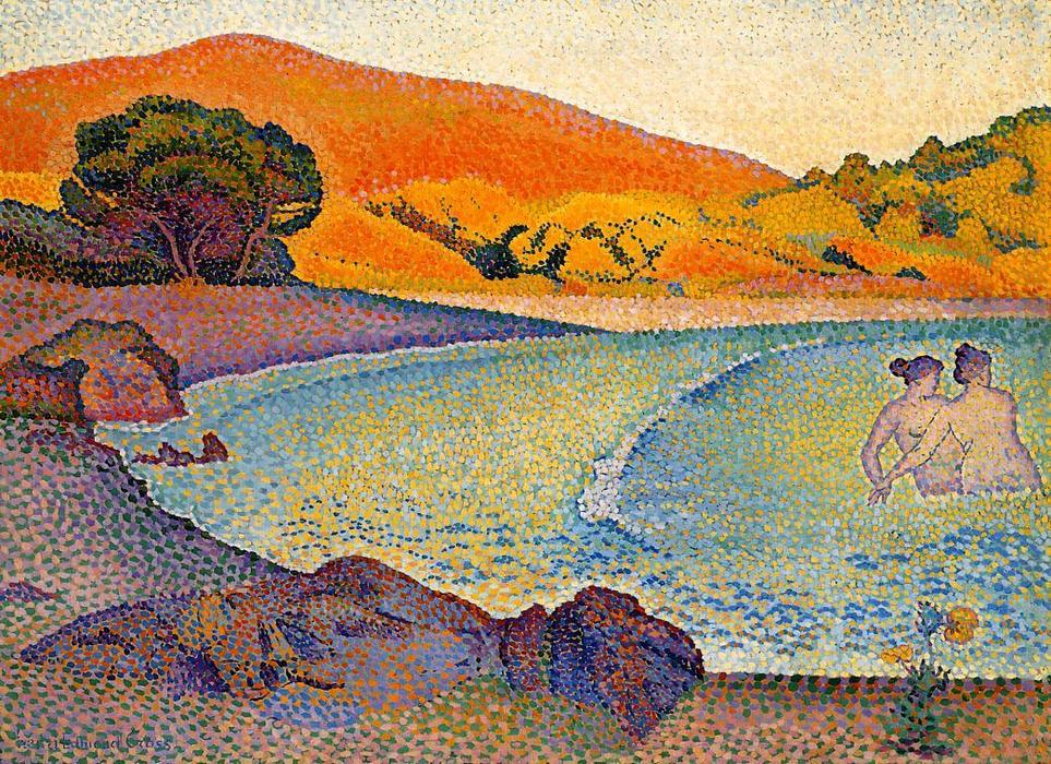 baigneurs de Henri Edmond Cross (1856-1910, France)
