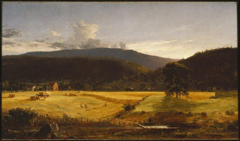 bareford montagnes , Ouest Milford , new jersey de Jasper Francis Cropsey (1823-1900, United States)