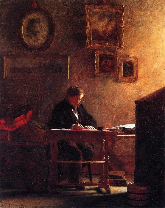 portrait d'individu 1 de Jonathan Eastman Johnson (1824-1906, United Kingdom)