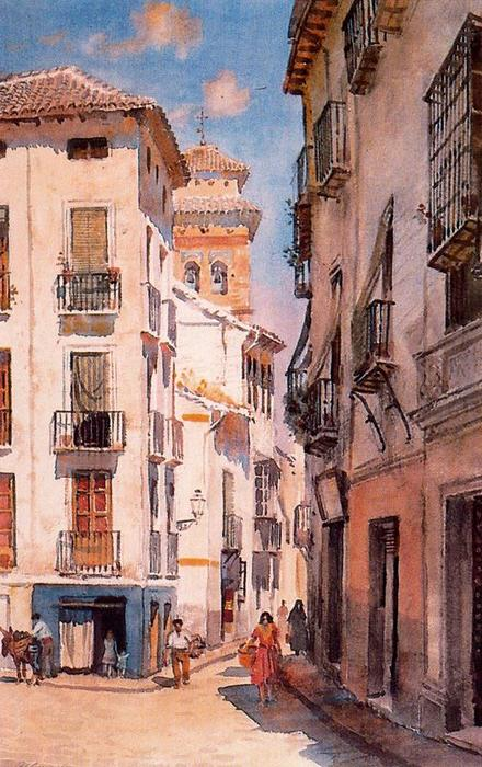 Rue Elvira de Jorge Apperley (George Owen Wynne Apperley) (1884-1960, United Kingdom)