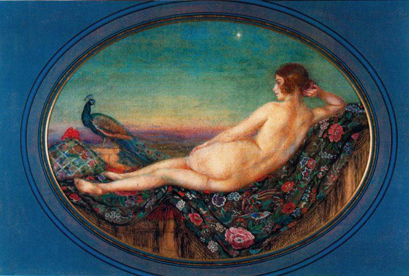 Twighlight de Jorge Apperley (George Owen Wynne Apperley) (1884-1960, United Kingdom)