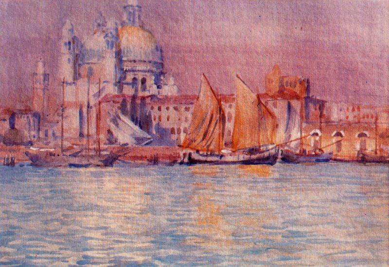 Venice 4 de Jorge Apperley (George Owen Wynne Apperley) (1884-1960, United Kingdom)