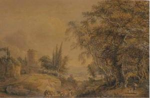 Paul Sandby - a rural paysage