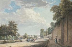 Paul Sandby - Bayswater Road, Paddington