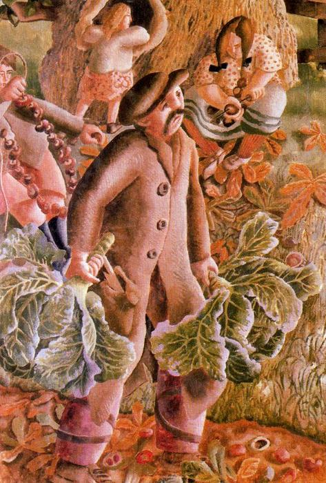 Châtaignes de Stanley Spencer (1891-1959, United Kingdom)