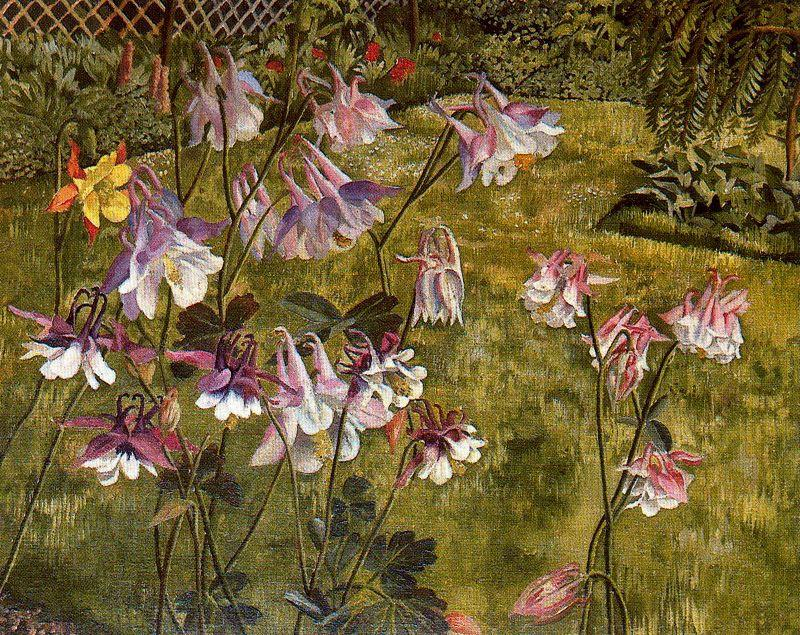 Columbines de Stanley Spencer (1891-1959, United Kingdom) | ArtsDot.com