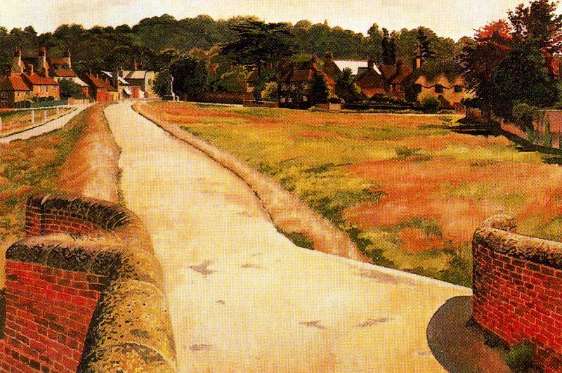 Cookham Moor de Stanley Spencer (1891-1959, United Kingdom) | Reproductions D'art Sur Toile | ArtsDot.com