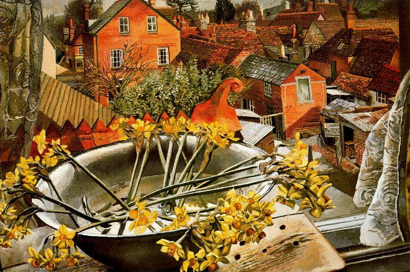 de l` `artist`s` studio de Stanley Spencer (1891-1959, United Kingdom) | Reproductions D'art Sur Toile | ArtsDot.com