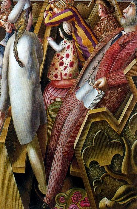 dans église de Stanley Spencer (1891-1959, United Kingdom) | ArtsDot.com