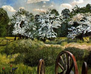Stanley Spencer - Marsh Meadows. Cookham