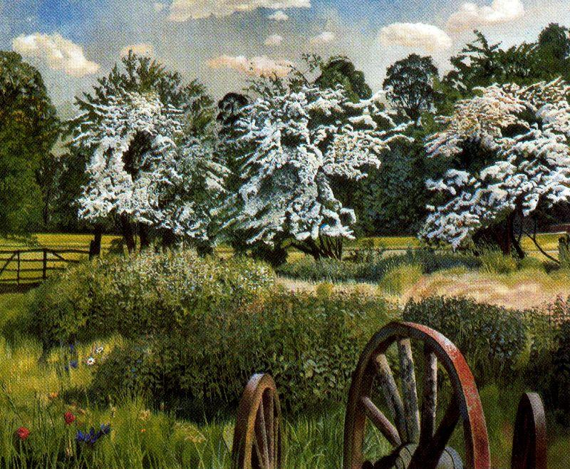 Marsh Meadows. Cookham de Stanley Spencer (1891-1959, United Kingdom) | ArtsDot.com