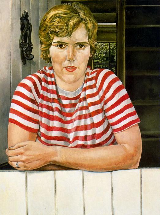 Mme Linda Peu Brown de Stanley Spencer (1891-1959, United Kingdom)