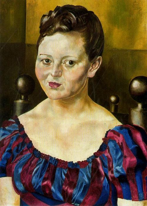 Portrait de Mlle Elizabeth Wimperis de Stanley Spencer (1891-1959, United Kingdom)