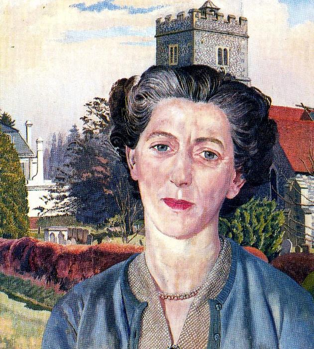 Portrait de Rachel Westropp de Stanley Spencer (1891-1959, United Kingdom)