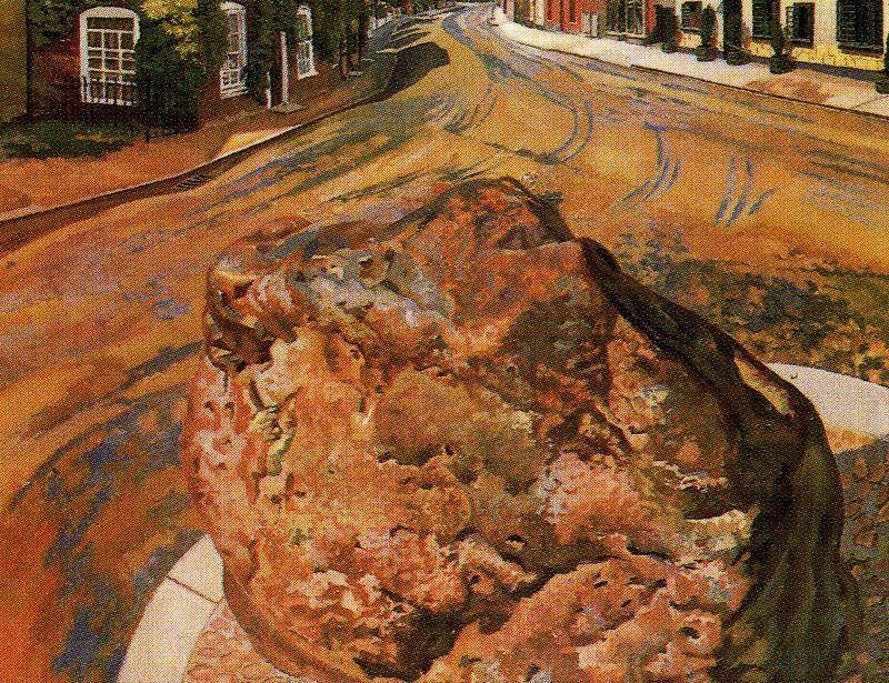 The Stone Tarry. Cookham de Stanley Spencer (1891-1959, United Kingdom)
