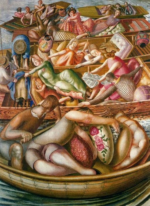 Sans titre 6 de Stanley Spencer (1891-1959, United Kingdom) | Reproductions D'art De Musée | ArtsDot.com