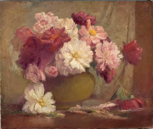 fleurs de Theodore Clement Steele (1847-1926, United States)