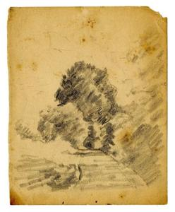 Theodore Clement Steele - paysage croquis 4