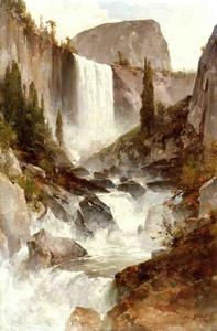 Thomas Hill - Tombe dans le Yosemite