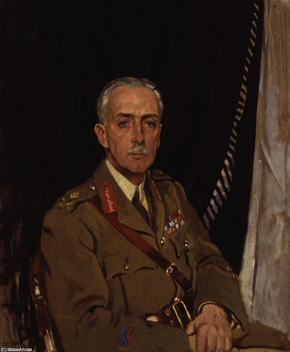 4ème Charles Sackville Ouest Baron Sackville de William Newenham Montague Orpen (1878-1931, Ireland) | Reproductions D'art Sur Toile | ArtsDot.com